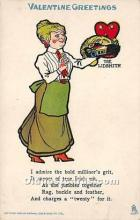 vin001071 - Vinegar Valentine Post Cards, Old Vintage Antique Postcards