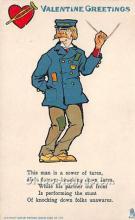 vin001072 - Vinegar Valentine Post Cards, Old Vintage Antique Postcards