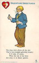 vin001073 - Vinegar Valentine Post Cards, Old Vintage Antique Postcards