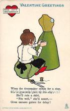vin001076 - Vinegar Valentine Post Cards, Old Vintage Antique Postcards