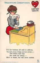 vin001080 - Vinegar Valentine Post Cards, Old Vintage Antique Postcards