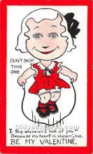 vin001081 - Vinegar Valentine Post Cards, Old Vintage Antique Postcards