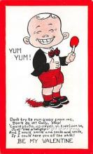 vin001085 - Vinegar Valentine Post Cards, Old Vintage Antique Postcards