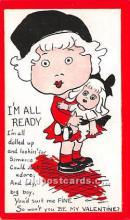 vin001095 - Vinegar Valentine Post Cards, Old Vintage Antique Postcards