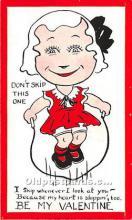 vin001101 - Vinegar Valentine Post Cards, Old Vintage Antique Postcards