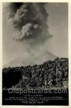 vol001007 - Valcan, Nacidoalas,Michoacan, Mexico Feb 1943 Volcano, Volcanoes, Postcard Post Cards Old Vintage Antique