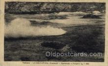 vol001012 - Volcano - La Solfatara, Pozzuoli, Near Naples, Southern Italy Volcano, Volcanoes, Postcard Post Cards Old Vintage Antique