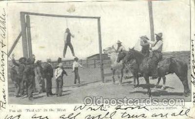 wes002287 - Western Cowboy, Cowgirl Postcard Postcards