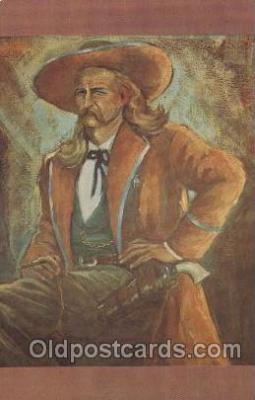 wes002633 - Wild Bill Hickok Western Cowboy, Cowgirl Postcard Postcards