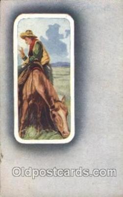 wes002672 - Western Cowboy, Cowgirl Postcard Postcards