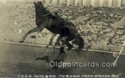 wes002688 - Chug Wilsons  Cowboy Western Old Vintage Antique Postcard Post Cards