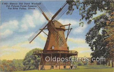 Historic Old Dutch Windmill