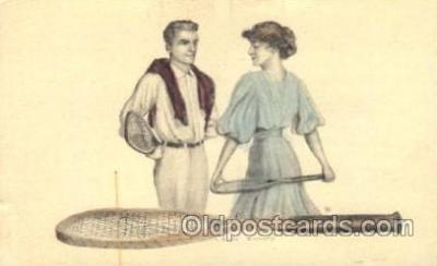 wis001057 - Artist Earl Christy, Woman in Sports Postcard Postcards