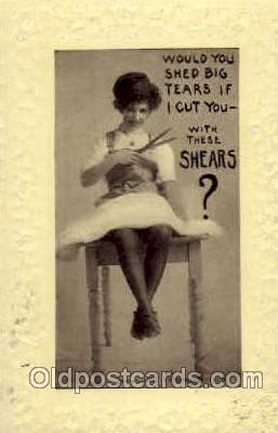 wom001072 - Woman Postcard Postcards