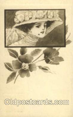 wom001104 - Woman Postcard Postcards