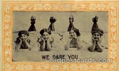 wom001117 - Woman Postcard Postcards