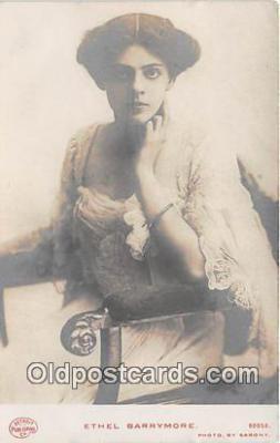 wom001183 - Ethel Barrymore Photo by Sarony Postcard Post Card