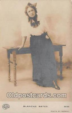 wom001184 - Blanche Bates Photo by Sarony Postcard Post Card