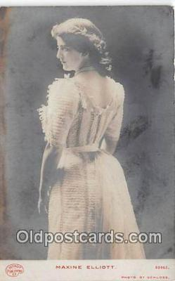 wom001185 - Maxine Elliott Photo by Sarony Postcard Post Card