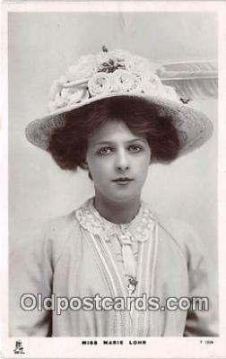 Miss Marie Lohr