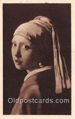 wom001417 - Joh Vermeer Van Delft  Postcard Post Card