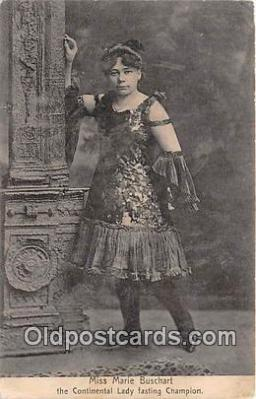 Theatrical, Miss Marie Buschart