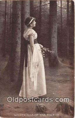 wom001649 - Whisperings of the Forest  Postcard Post Card