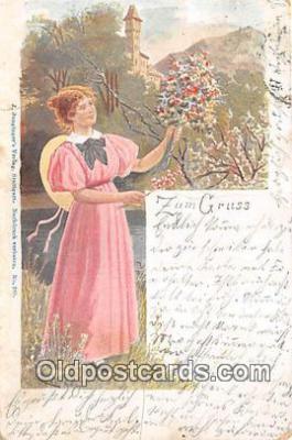 wom001660 - Zum Cruss  Postcard Post Card