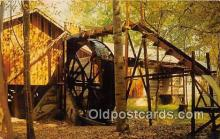 wat001024 - Old Mill David Crockett State Park, Lawrenceburg, Tennessee, USA Water Wheel Postcard Postcard Post Card