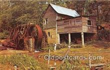 wat001025 - Greetings from Georgia Water Wheel Postcard Postcard Post Card