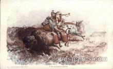 wes000048 - Western Postcards Artist Charles Russell