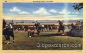 wes000050 - Western Postcard