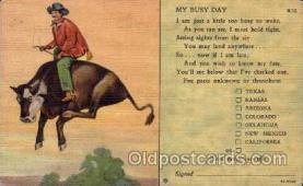 wes000051 - Western Postcard