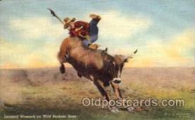 wes000056 - Western Postcard