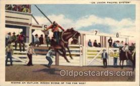 wes000072 - Western Postcard