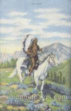 wes000101 - Western Cowboy Postcard Postcards