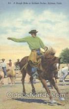 wes000116 - Western Cowboy Postcard Postcards