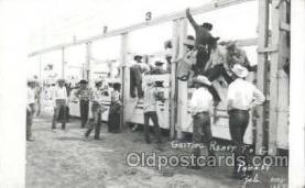 wes000127 - Western Cowboy Postcard Postcards