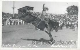 wes000128 - Western Cowboy Postcard Postcards