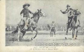 wes000129 - Western Cowboy Postcard Postcards