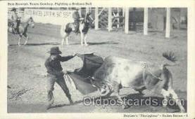 wes000130 - Western Cowboy Postcard Postcards