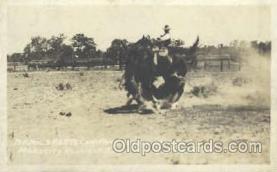 wes000134 - Western Cowboy Postcard Postcards