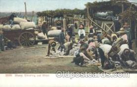 wes000138 - Western Cowboy Postcard Postcards