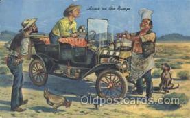 wes000139 - Western Cowboy Postcard Postcards