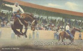 wes000146 - Western Cowboy Postcard Postcards