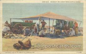wes000149 - Western Cowboy Postcard Postcards