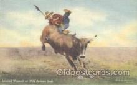 wes000150 - Western Cowboy Postcard Postcards