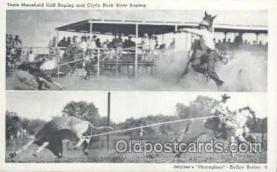 wes000151 - Western Cowboy Postcard Postcards