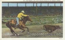 wes000153 - Western Cowboy Postcard Postcards