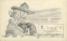 wes000155 - Western Cowboy Postcard Postcards